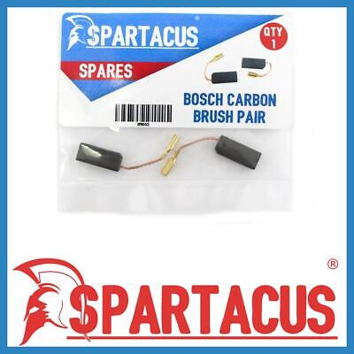 Spartacus SPB052 Carbon Brush Brushes Spare Pair Replacement For Bosch Models • 9.99£