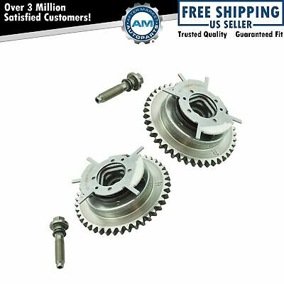 $231.18 • Buy SMP Camshaft Phaser Variable Valve Timing Sprocket Gear Cam Shaft Pair For Ford
