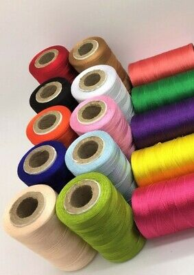 15 Vibrant Spools Sewing Machine Silk Thread Embroidery BROTHER JANOME GUTERMAN • 7.89£