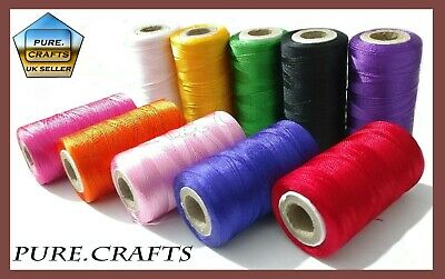 10 Vibrant Spools Sewing Machine Silk Thread Embroidery BROTHER JANOME GUTERMAN • 4.98£