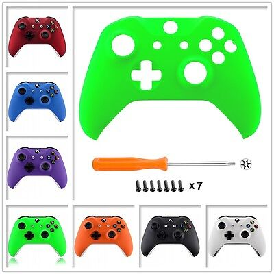 $15.99 • Buy Soft Touch Repair Part Top Front Shell Faceplate For Xbox One S Game Controller