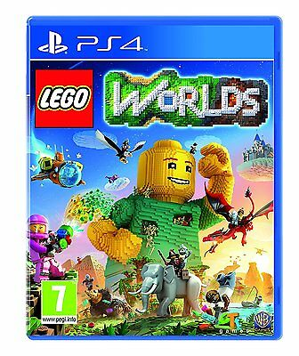 AU27.97 • Buy Lego Worlds PS4 - Kids Game For Sony PlayStation 4 BRAND NEW & SEALED World UK