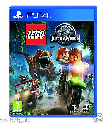 AU27.74 • Buy LEGO Jurassic World PS4 - Kids Game For Sony PlayStation 4 NEW SEALED