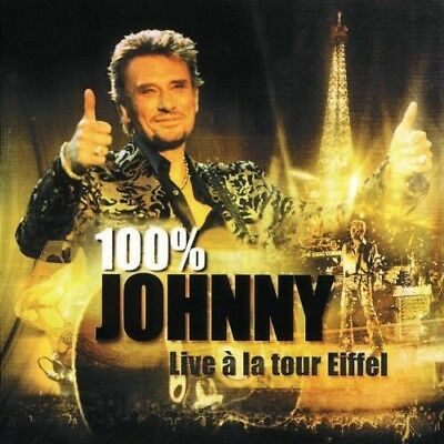 AU25.99 • Buy Johnny Hallyday - 100% Johnny : Live à La Tour Eiffel [New CD] France