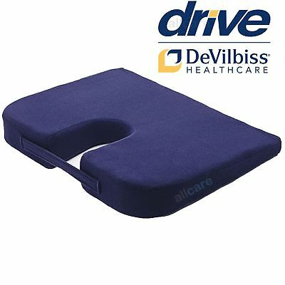 £14.99 • Buy Drive Coccyx Wedge Shaped Support Seat Cushion Pressure Relief Cut Out Section
