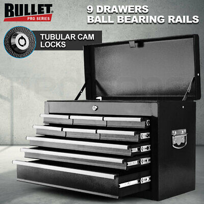 AU149 • Buy 【EXTRA10%OFF】BULLET 9 Drawer Tool Box Chest Mechanic Garage Storage Toolbox