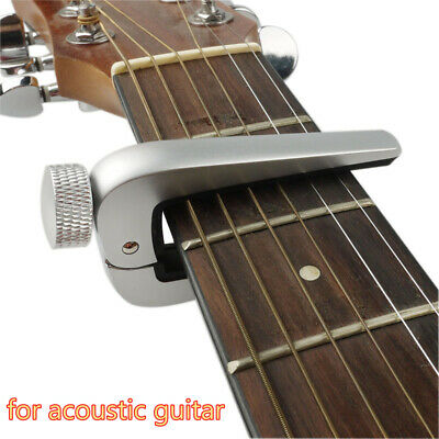 $ CDN15.07 • Buy Universial Guitar Capo Tuner Quick Change For Acoustic Classical Electric Guitar