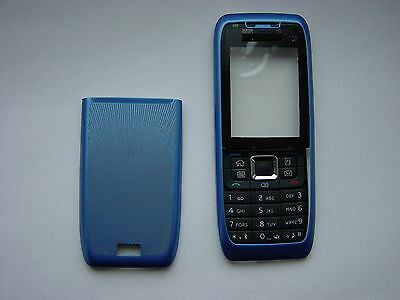 Nokia 3 Parts Cover Case For E51 Blue  Front & Back & Keypad • 1.87£