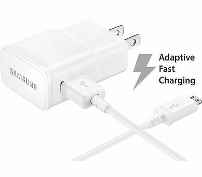 $ CDN13.12 • Buy OEM Samsung Adaptive Fast Charger Micro USB 2.0 Cable 1 Wall Charger + 5 FT USB