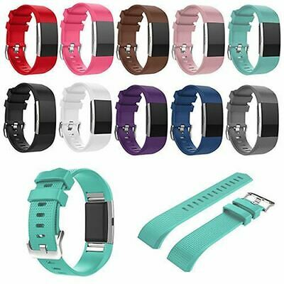 $ CDN6.80 • Buy Replacement Wristband Bracelet Strap Band For Fitbit Charge 2 Classic Buckle