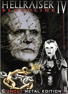 Hellraiser 4 , Bloodline ,2 Disc Steelbook Edition , Uncut , New And Sealed • 16.99£