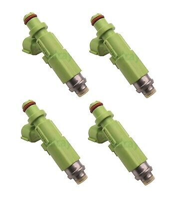 AU253.99 • Buy 4 X 550cc Fuel Injectors For Toyota 4AGE / 4AGZE TOP FEED TYPE E85