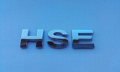 £3.99 • Buy New Chrome 3D Self-adhesive Car Letters Badge Emblem Sticker Spelling HSE