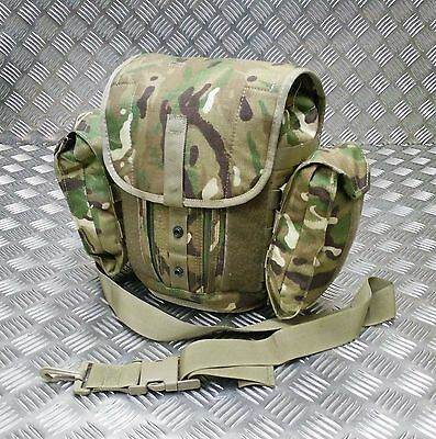 £22.99 • Buy Genuine British Army Gas Mask Bag MTP Camo Field Pack / Respirator Case Molle G1