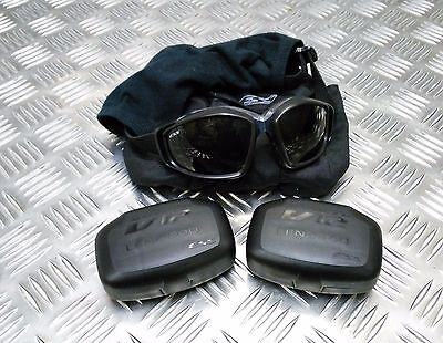 £39.99 • Buy Genuine British Army Issue ESS V12 Advancer Ballistic Tactical / Assault Goggles