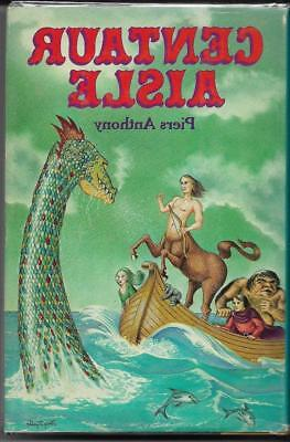 Centaur Aisle By Piers Anthony. Xanth #4  Del Rey (1981)  Hdbk With Jacket.  BCE • 5$