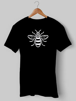 Manchester Bee T Shirt Anniversary City United Oasis Hoody NEW Printed • 9.99£