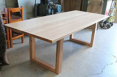 AU1736 • Buy Nell 8 Seater Dining Table  Solid Tassie Oak Hardwood Timber  Locally Made