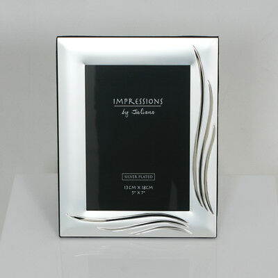 £12 • Buy Impressions Photo Frame By Juliana  Silver Wave  Brand New
