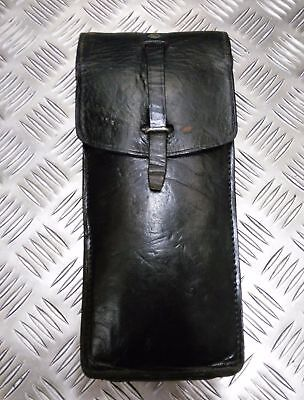 Genuine Vintage Military Issue Long Leather Ammo / Utility Pouch Various Shades • 11.99£