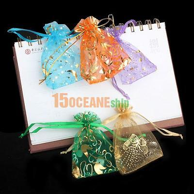 $ CDN4.76 • Buy 50pcs/Lot Mini Organza Jewelry Candy Pendent Wedding Party Favor Gift Bags Pouch