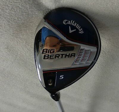 $ CDN144 • Buy LH - 2014 Callaway Big Bertha 5/18* Wood W/Zeta 65 Regular Graphite Shaft