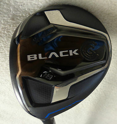 $ CDN146 • Buy LH - 2015 Cleveland CG Black 5/18* Wood W/Bassara Eagle Regular Graphite Shaft