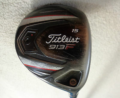 $ CDN134 • Buy Titleist 913F 3/15* Wood W/Diamana D+ 82x5ct Stiff Graphite Shaft