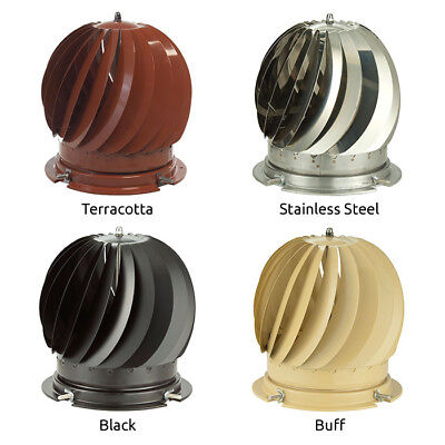 MAD Spinner Chimney Cowls - 4 Colours • 79.99£