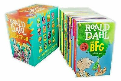 AU61.86 • Buy  ROALD DAHL Collection 16 Books Box Set Phizz Wizzing Collection Book Brand 2020