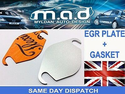 EGR BLANKING PLATE FORD 1.8 TDCi TRANSIT CONNECT MONDEO FOCUS GALAXY C-MAX KIT • 4.95£