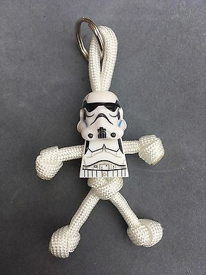 LEGO STAR WARS Stormtrooper PARACORD BUDDY Keyring - HAND MADE IN UK • 4.95£