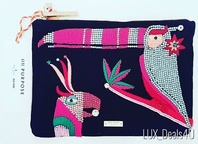 $ CDN199.99 • Buy NWT Authentic Kate Spade On Purpose Beaded Parrot Bag
