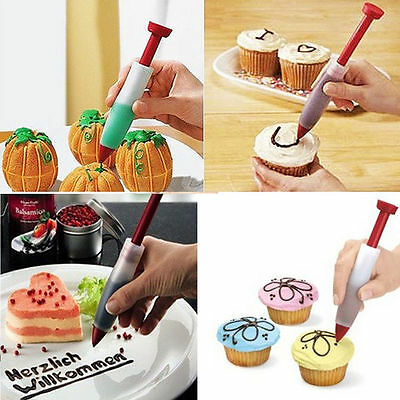 £2.11 • Buy Pastry Icing Piping Bag Nozzles Tips Fondant Cake Sugarcraft Tool Decorate Pen D