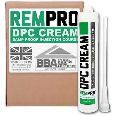 £18.99 • Buy Rempro 400ml DPC Damp Proofing Cream - Rising Damp Injection Treatment & Control
