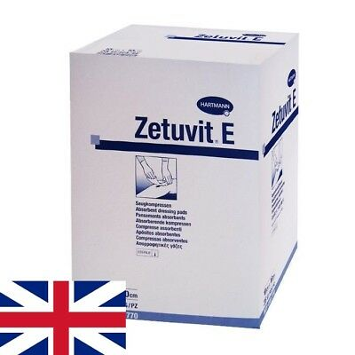 £18.94 • Buy Zetuvit E Sterile Absorbent Dressing Pads First Aid / Wound Care   Select Size