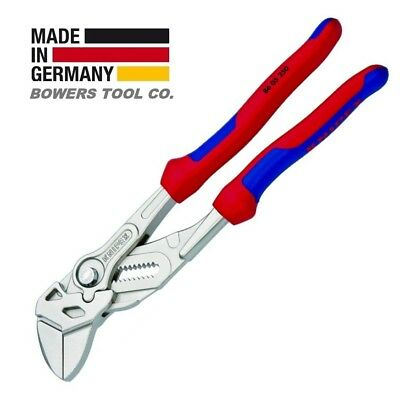 £48.55 • Buy Knipex 10  Pliers Wrench 8605250 Adjustable Wrench W Comfort Grips