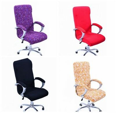 AU9.99 • Buy Seat Decorat Swivel Computer Chair Cover Stretch Office Armchair Protector New