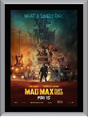 AU9.95 • Buy Mad Max Fury Road A1 To A4 Size Poster Prints