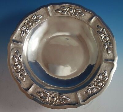 $959 • Buy Aztec Rose By Maciel Mexican Mexico Sterling Silver Fruit Bowl #15466/9 (#1785)
