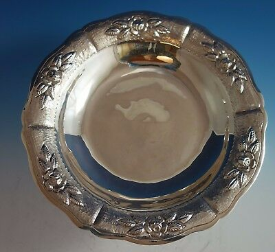 $1009 • Buy Aztec Rose By Maciel Mexican Mexico Sterling Silver Compote #1793