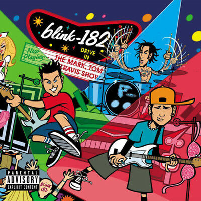 Blink 182 - The Mark, Tom, And Travis Show [New Vinyl LP] Explicit • 24.77£