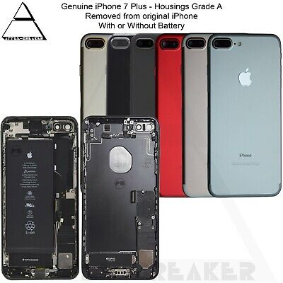 Genuine Apple IPhone 7 & 7 Plus REAR BACK CHASSIS HOUSING WITH PARTS - GRADE A • 39.99£