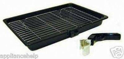 HOTPOINT CREDA INDESIT Compatible Cooker Oven GRILL PAN TRAY 380mm X 280mm • 14.95£