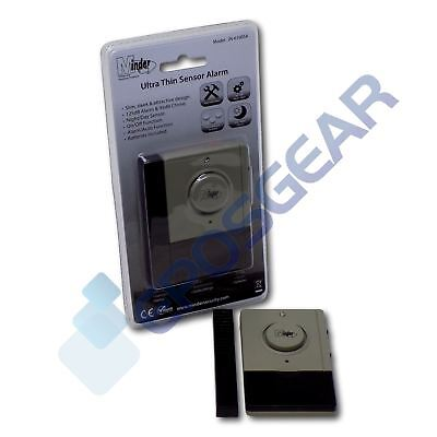 £5.80 • Buy Minder Ultra Thin Window Door Magnetic Vibration Sensor Alarm And Entry Chime