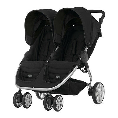 Twin Pushchair B-Agile Double Cosmos Black Britax • 461.99£