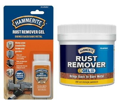 £5.50 • Buy Hammerite - Rust Remover Gel - Removes Rust From Metal - All Sizes