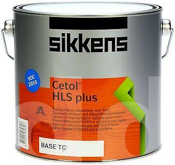 £21.49 • Buy Sikkens Cetol HLS Plus Woodstain Paint - All Sizes - All Colours