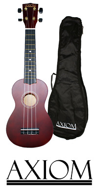 AU34.95 • Buy Axiom Spectrum Beginner Coloured Ukulele - Natural - With Carry Bag