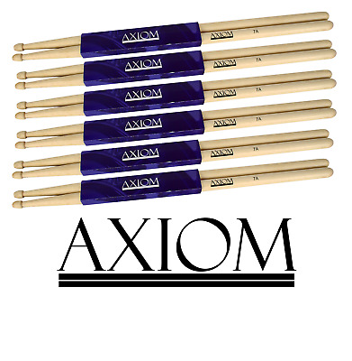 AU39.95 • Buy Axiom Drumsticks - 7A Maple Wood - Six Pack